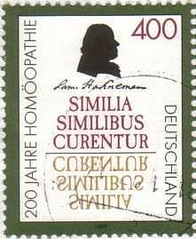 Homöopathie-Briefmarke von 1996